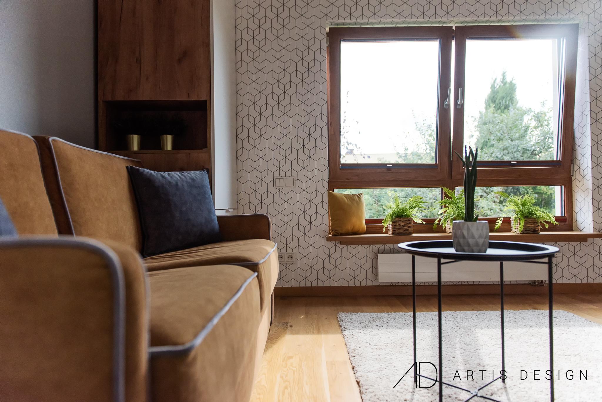 Projekt: Pokój młodzieńca   Artis Design: Studio projektowe