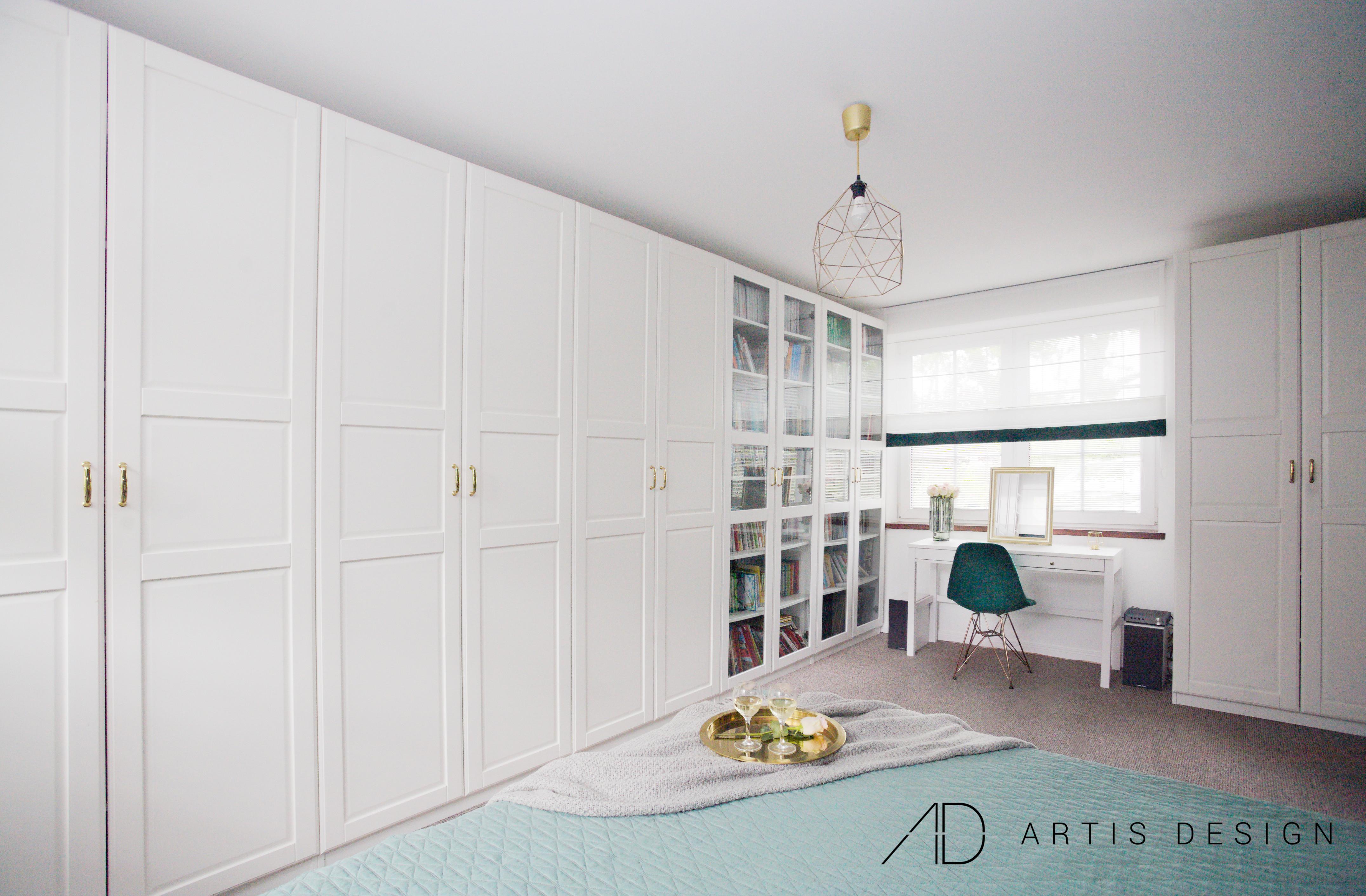 Projekt: Sypialnia las we mgle   Artis Design: Studio projektowe