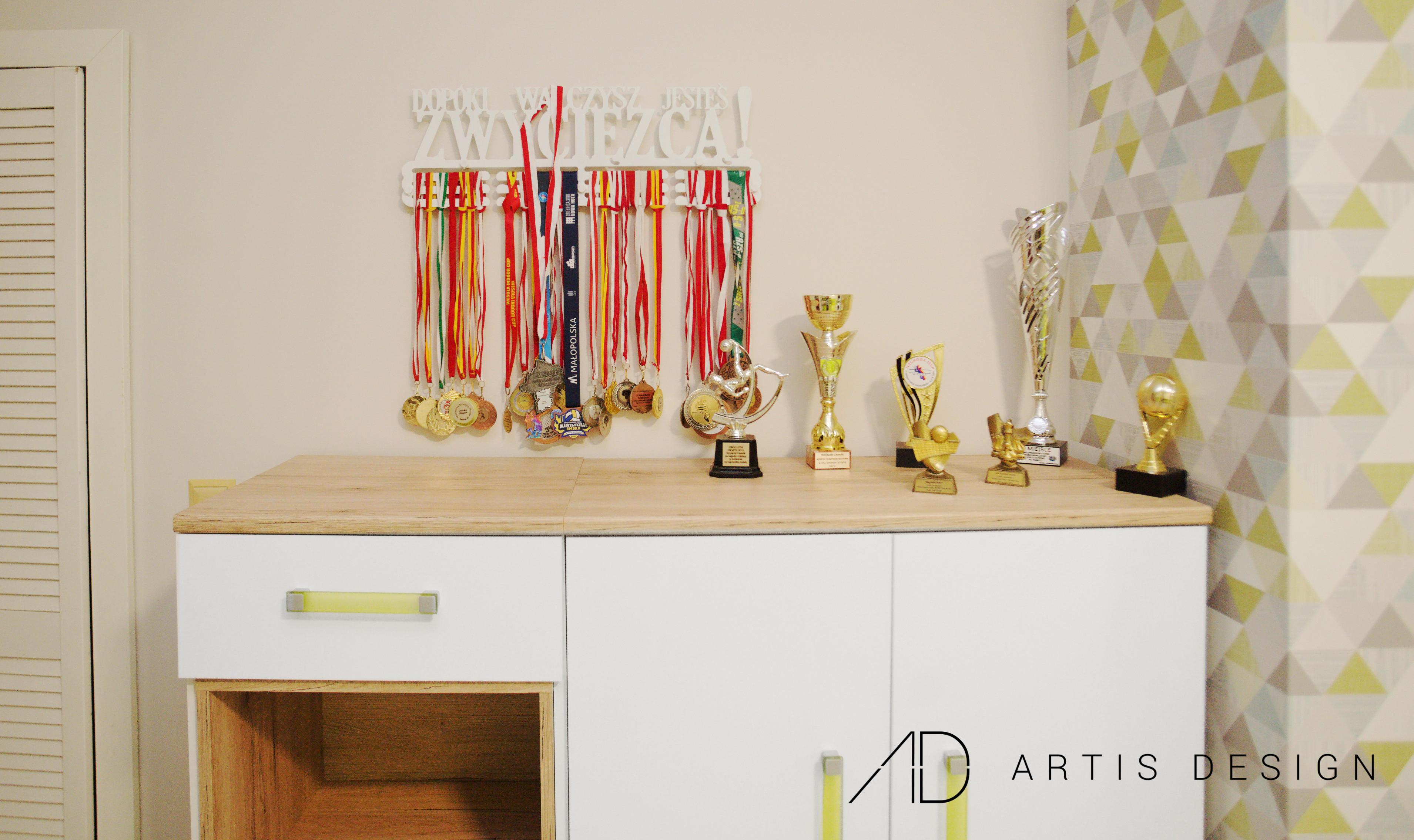 Projekt: Pokój sportowca | Artis Design: Studio projektowe