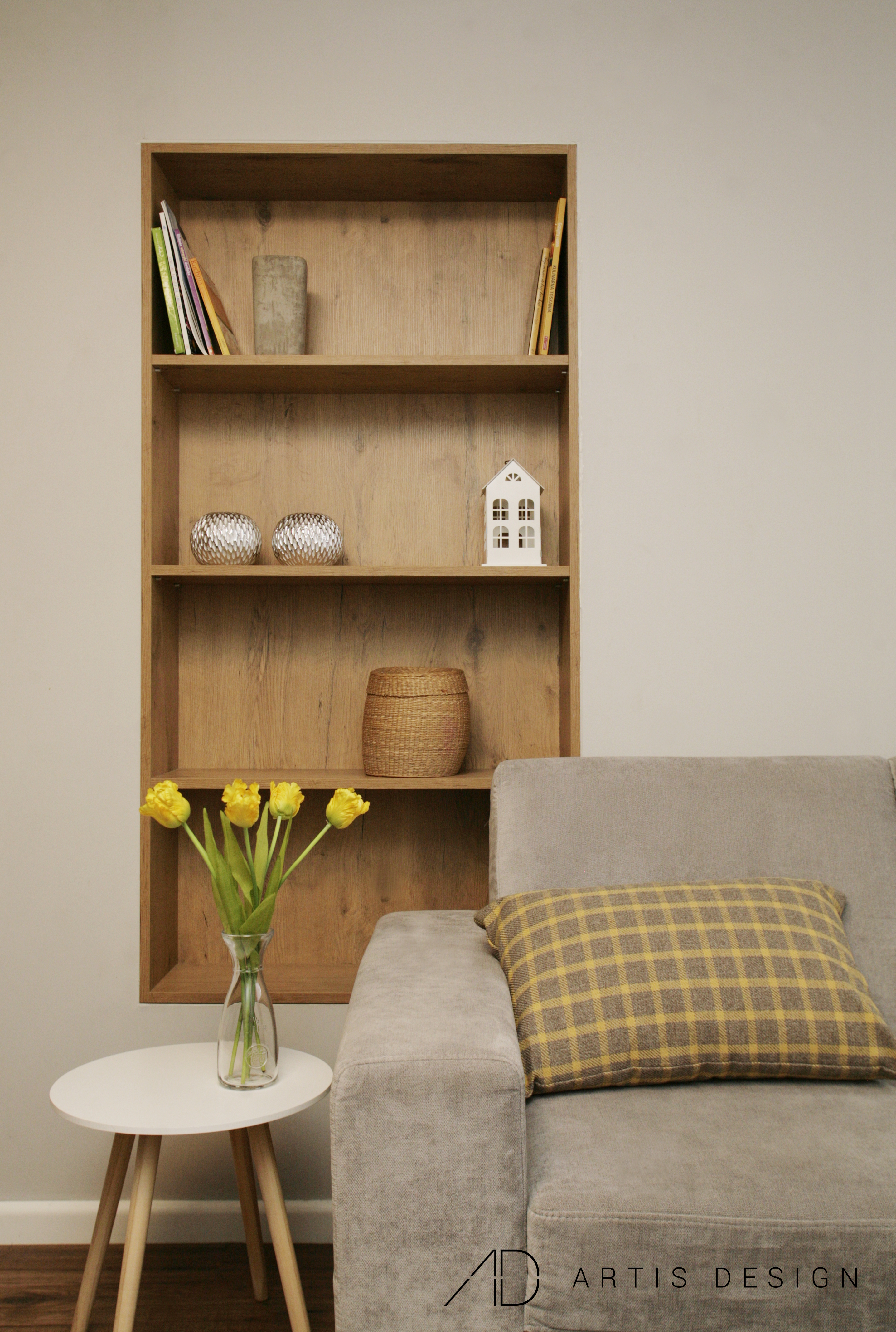 Projekt: Lewitująca kuchnia sercem domu   Artis Design: Studio projektowe