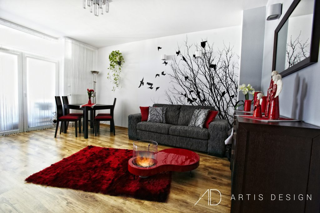 Projekt: Ptaki w warszawskim mieszkaniu | Artis Design: Studio projektowe