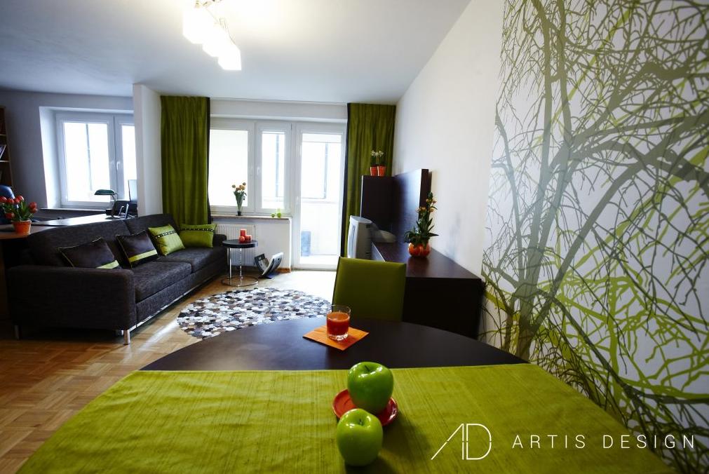 Projekt: Zielone jabłuszko | Artis Design: Studio projektowe