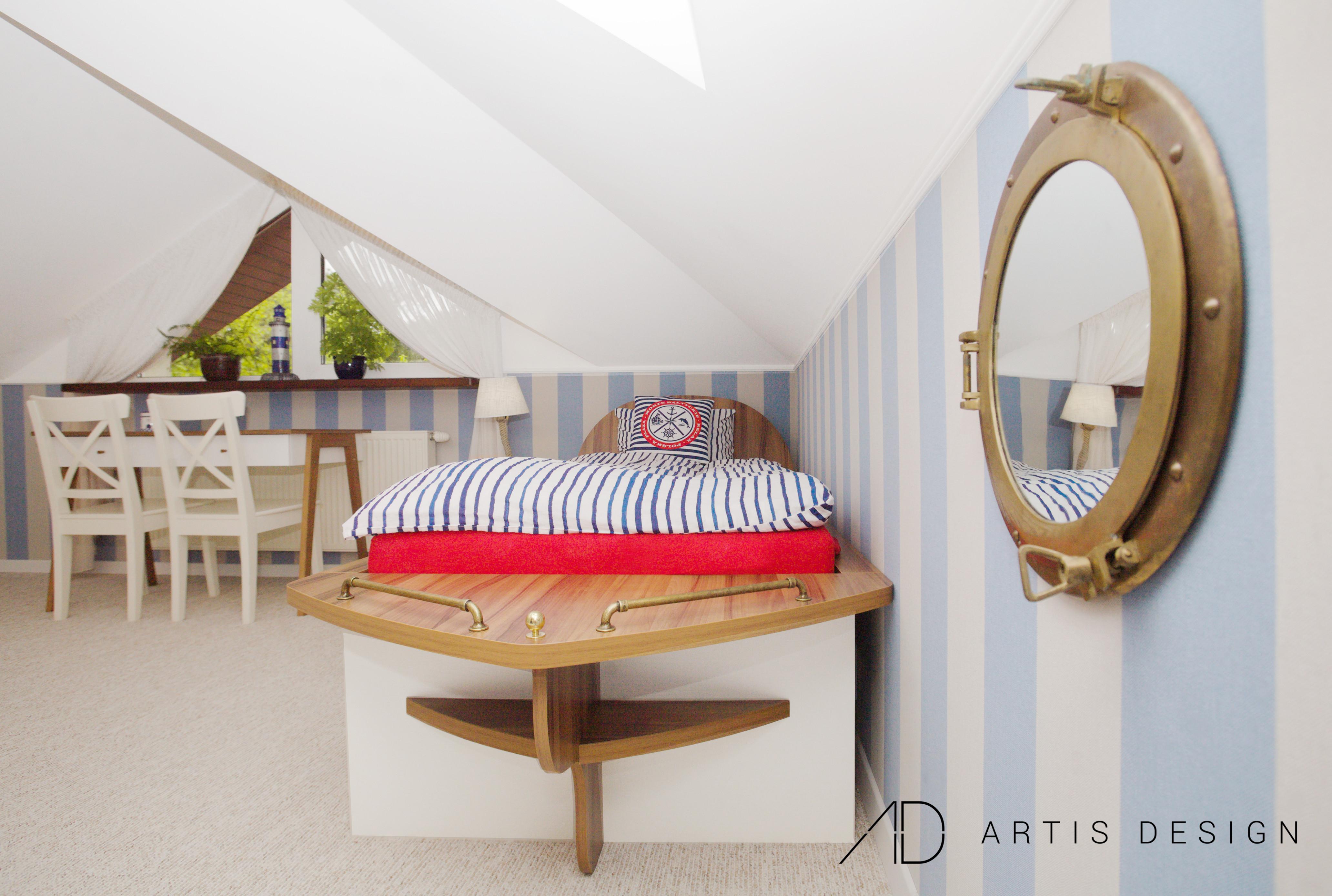 Projekt: Pokój chłopca | Artis Design: Studio projektowe